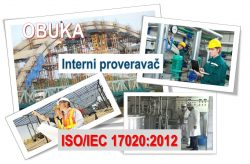 C08 Interni proveravač za sistem menadžmenta kontrolnog tela prema zahtevima standarda ISO/IEC 17020 @ StandCert, Beograd