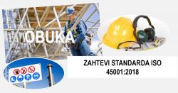 O21-Priprema za primenu standarda ISO 45001:2018 – Upoznavanje sa zahtevima standarda @ StandCert d.o.o. Beograd