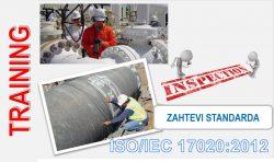 C05 - SRPS ISO/IEC 17020:2012 – Ocenjivanje usaglašenosti – Zahtevi za rad različitih tipova tela koja obavljaju kontrolisanje @ StandCert d.o.o. Beograd