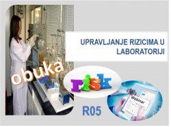 R05 Upravljanje rizicima u laboratoriji - webinar